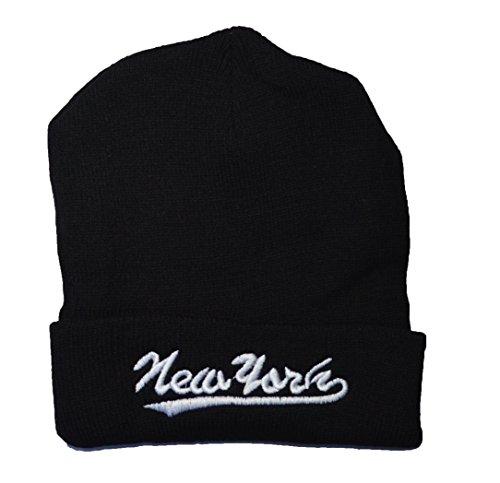 NEW de haute qualité New York brodé Bonnet Noir