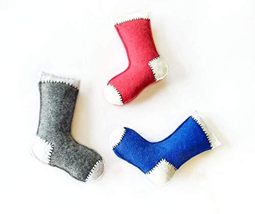 Organic Valerian Root Stinky Sock Cat Toy