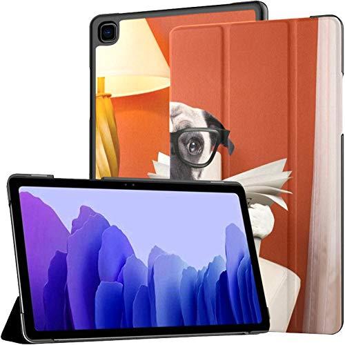 Custodia colorata per Samsung Galaxy Tab A7 da 10,4 pollici modello 2020 (SM-T500 505 507) – Custodia in pelle PU con supporto per tablet con sveglia automatica sonno – giornale di carlino