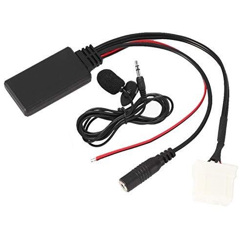 zhuolong Adattatore per Cavo AUX-in Microfono Bluetooth 5.0 per Auto Adatto per Mazda 2 3 5 6 RX8