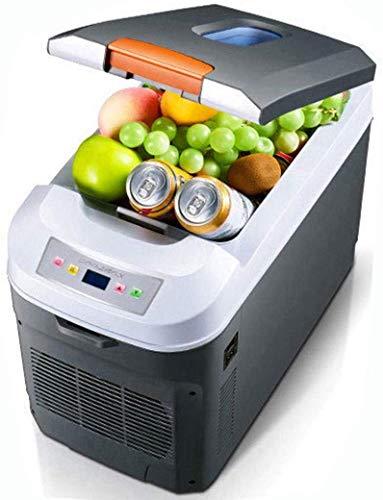 LLYU Mini-koelkast, 12 V/24 V ~ 240 V, voor auto's en huizen, koelboxen voor verwarming en koeling, digitaal display, elektrische koelboxen geschikt voor reizen en kamperen 11L