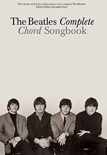 The Beatles Complete Chord Songbook (English Edition)