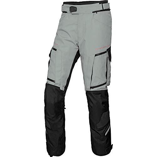 FLM Motorradhose Reise Textilhose 2.0 grau/schwarz XL, Herren, Enduro/Reiseenduro, Ganzjährig