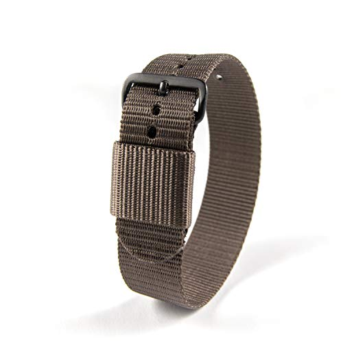 Marathon WW005003SG Ballistic Nylon Watch Band, Military Grade with Stainless Steel, Non-Magnetic Buckle (W: 20MM L: 11', Sage Green)