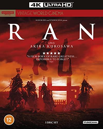 Ran (Vintage World Cinema) 4K [Blu-ray] [2021] [Region A & B & C]