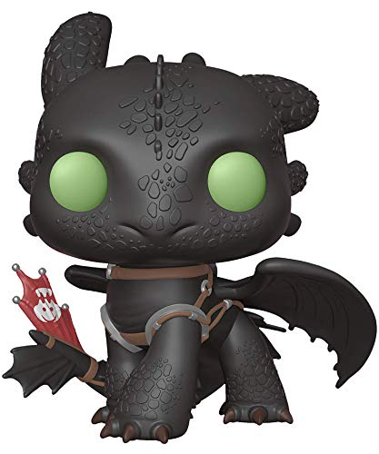 Funko Pop! Movies - How to Train Your Dragon - Toothless (Hidden World) (10-inch) #686 Super Size Vinyl Figure 25cm Released 2019