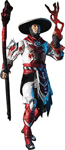 "McFarlane Toys Mortal Kombat Raiden Bloody White Hot Fury Skin 7"" Action Figure, Multicolor"