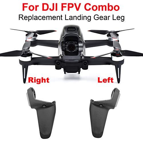 DJFEI FPV Combo Drone Landing Gear, Zunahme Höhe Fahrwerk Erweiterter Stable Landing Gear Ersatz Verlängerung Beine Füße Packung für DJI FPV Combo Drone