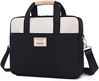 Wusssonggadnb Laptop Case, Shockproof Laptop Bag Case 13.3 14 15 15.6 Inch Notebook Carrying Bags Shoulder Sleeve Women Ma...