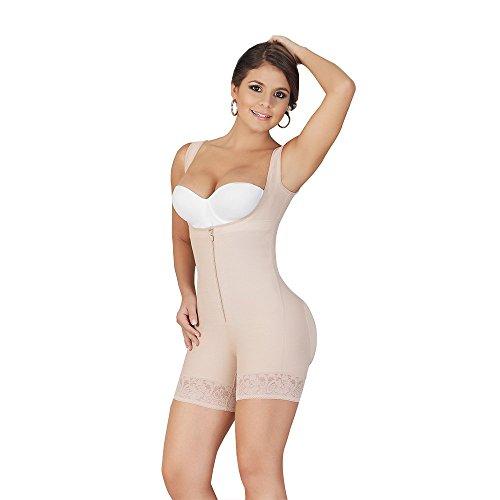 FAJAS SALOME Women's 0518-2 Body Shaper 2XL Nude