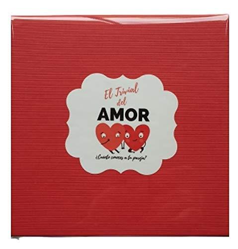 Desconocido |Trivia del Amor. Pack de Regalo Aniversario Hombre o Mujer. Regalo romántico San Valentín