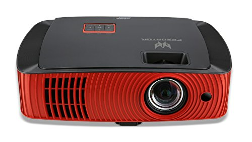 Acer Predator Z650 2200lúmenes ANSI DLP 1080p (1920x1080) Desktop projector Negro, Rojo - Proyector (16:9, 1371,6 - 7620 mm (54 - 300