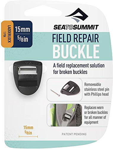 Sea to Summit Field Repair Buckle-15mm Ladderlock 1 Pin Sporting Goods, blau, Einheitsgröße