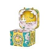 オルゴール オルゴール 音楽ボックス DIY 装飾 レトロ ミュージックボックス 子供 誕生日 プレゼント LCLJP