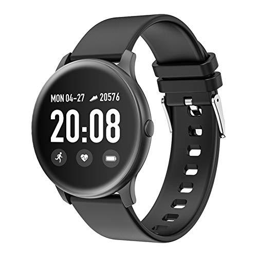 SMARTWEAR Smart Watch Mit Herzfrequenzmesser,Frauen/Männer Fitness-Armband Sport Armband Uhr,Facebook/Twitter-Nachricht-Uhr Für Kinder-a