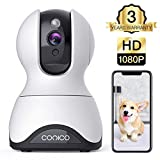 Pet Camera,Conico 1080P HD Wireless IP Camera with Sound and Motion...