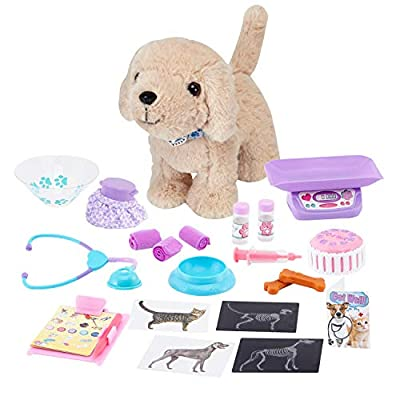 Journey Girls Vet Center and Yellow Lab - Amazon Exclusive, Multi-color by Just Play