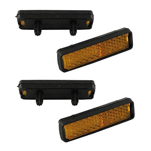 Pedal Reflektoren zum Stecken Satz=4 Stück