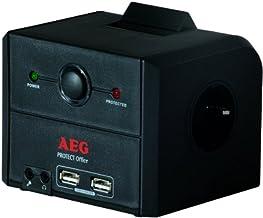 AEG - 3-fach Übersp.-schutzsteckdose Master/Slave