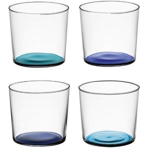 LSA International Coro bicchieri 31cl (Set di 4), Colori assortiti