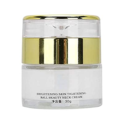 30g Premium Neck Cream Anti Aging Moisturizer for Neck Brightening Tightening Firming Lifting Massage Cream for Neck Wrinkle Removal by Qkiss