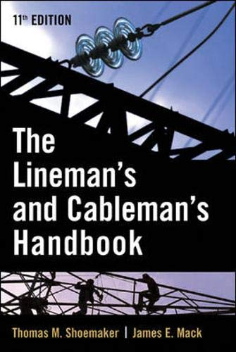 Lineman and Cableman's Handbook (Lineman's and Cableman's Handbook)