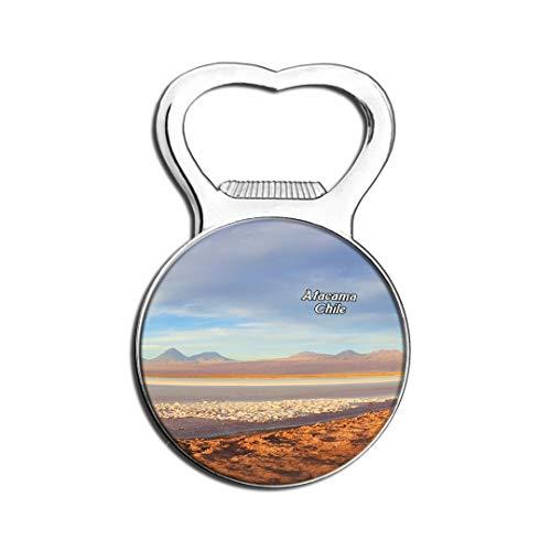 Weekino Lac Salé Atacama Chili Aimant De Réfrigérateur Bière Ouvre-Bouteille Ville Voyage Souvenir Autocollant de réfrigérateur Fort