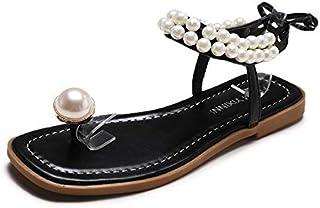 Nnw0vm8 Amazon Esla 35 Zapatos Chanclas Sandalias Para Perla Mujer Y T1clKJ3F