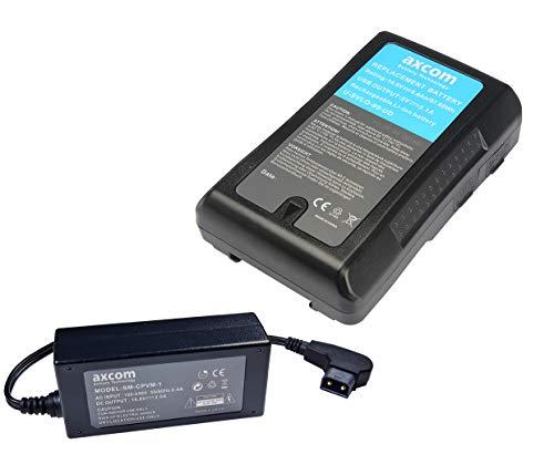Axcom U-SVLO-99-DU - Batería de repuesto para Sony BP-95W (97,68 Wh)
