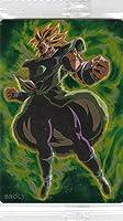 【18.ブロリー (R レア) 】ドラゴンボール カードウエハース UNLIMITED 3