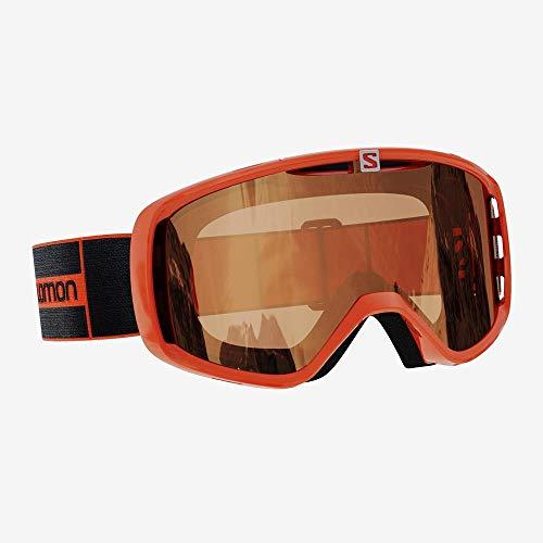 Salomon Goggles AKSIUM Access Sonnenbrille, Flamme (Mehrfarbig), NS