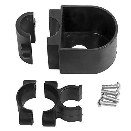 Haokaini Halterung für Gehstock, verstellbar, für Elektro-Roller, Rollstuhl-Zubehör (passend für 15–20 mm Stock)