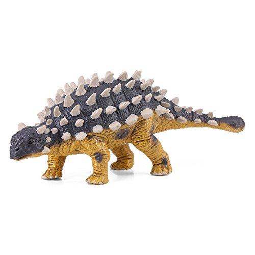 Mini Dinosaurio Saichania Modelo, Juguete Dinosaurio de Plástico Sólido para Niños Pequeños Niños Niñas Kids Figura Animal Regalo de Cumpleaños Party Favor Room Decor