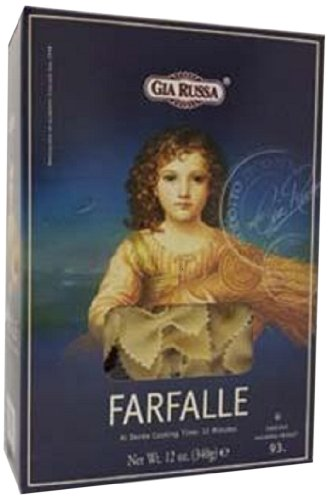 Gia Russa Farfalle, 12-Ounce (Pack of 12)