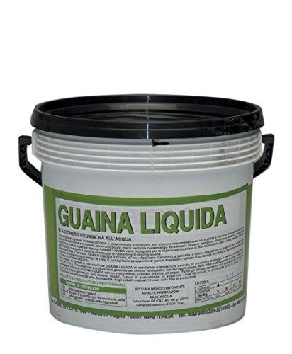 GUAINA LIQUIDA BITUMINOSA NERA KG 5