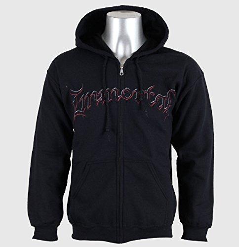 IMMORTAL DAMNED IN BLACK Zip-Jacke/ Zip-Hood M