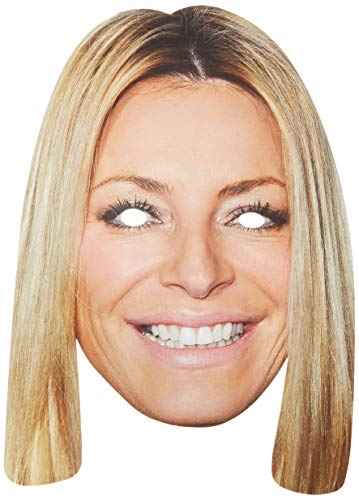 Tess Daly Celebrity Face Card Mask