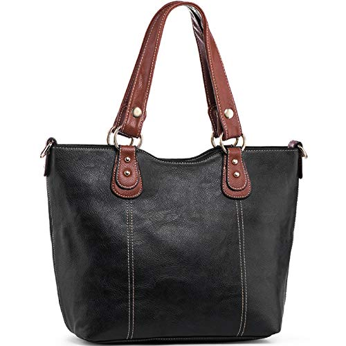 (50% OFF Coupon) PU Leather Tote $19.00
