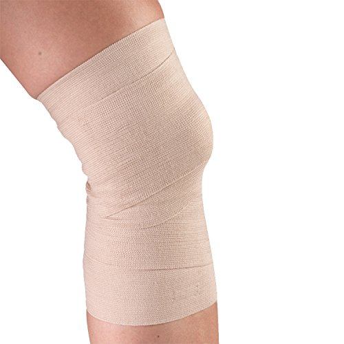 CHAMPION Reusable Elastic Bandage, Beige, Universal, 4 Inch Wide