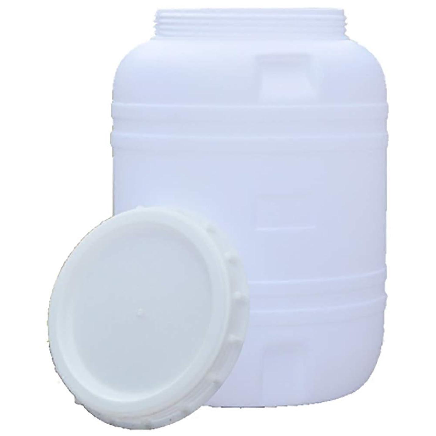 ビジネス発動機シロナガスクジラウォータータンク 食品グレードのプラスチックは厚いネットバケット大型貯蔵タンク貯蔵タンクのふた外槽家庭の水容器をドラム (Size : 25L)