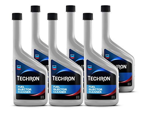 Chevron 9280-6PK Techron Fuel Injector Cleaner