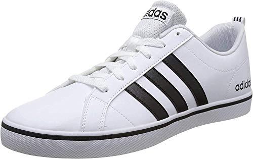 adidas Vs Pace, Zapatillas para Hombre, Blanco (Footwear White/Core Black/Blue 0), 40 EU