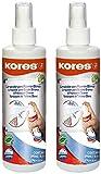 Kores Whiteboard Reiniger, Pump-Spray-Flasche, 250 ml (2er Pack)