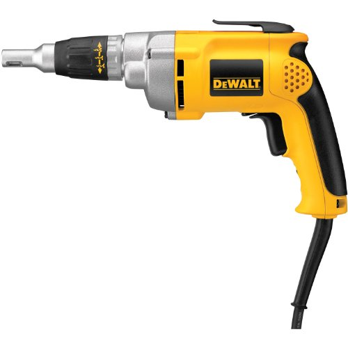 DEWALT Drywall Screw Gun, Variable Speed Reversible, 6.5-Amp (DW276)
