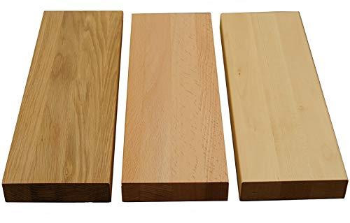 Holz-Projekt-Summer Türschwelle Buche Massivholz Stärke:19mm Schwelle Holzschwelle Bodenschwelle für Innentüren Echtholz geölt (81.7cm (86er Tür) x 137mm)