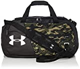 Under Armour Adult Undeniable Duffle 4.0 Gym Bag , Black (006)/White , Medium