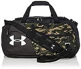 Under Armour Undeniable Duffle 4.0 Gym Bag, Black (006)/White, Medium