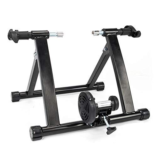 J Soporte de Entrenador de Bicicleta de Fluido inalámbrico Plegable para Interiores, reducción de Ruido Mudo, Rendimiento mecánico Fundación Estable de Gran Capacidad de cojinete