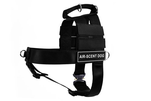 Dean & Tyler DT Cobra Air-Scent Dog No Pull Harness, Small, Black