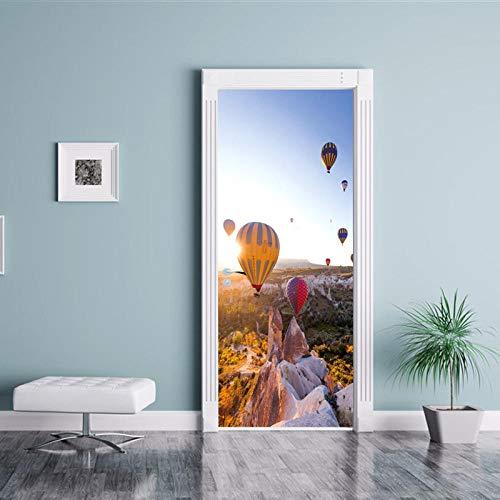 Yjlmt Türkei Luftballon Wandbild Eingang Badezimmer Glastüren Und Fenster Tür Aufkleber Tv Hintergrund Sofa Dekoration Aufkleber